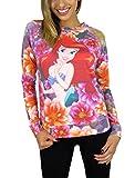 Disney The Little Mermaid Juniors Pullover Top Floral
