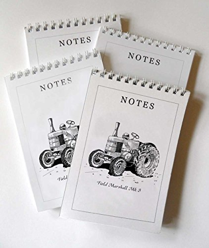 field-marshall-tractor-pack-of-4-a6-notepads-gift-set