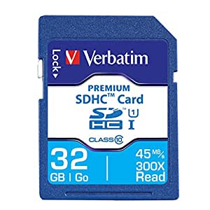 Verbatim Premium 32 GB Secure Digital High Capacity (SDHC) -Class 10 -1 Card/1 Pack
