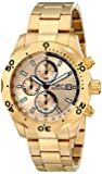 """Invicta Men's 17750 """"Specialty"""" 18k Gold-Plated Watch"""