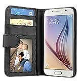 Samsung Galaxy S6 Hülle, EnGive Ledertasche Schutzhülle
