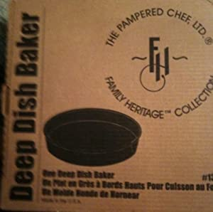 Pampered Chef Deep Dish Baker #1390