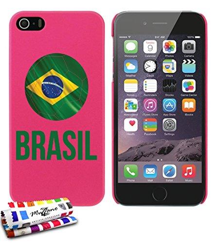 autentica-funda-extra-slim-balon-de-futbol-brasil-por-muzzano-para-apple-iphone-5-compatible-con-iph