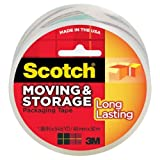 Scotch Long Lasting Storage Packaging Tape, 1.88 Inches x 54.6 Yards, 1 Roll (3650)
