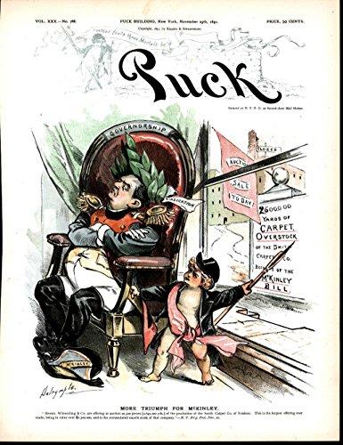 mckinley-bill-triumphant-carpet-overstock-1891-antique-color-lithograph-print