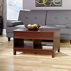 Sauder Kendall Square Lift Top Coffee Table, Select Cherry