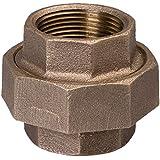 Everflow Supplies BRUN0034-NL 3/4-Inch Brass Union, Lead Free
