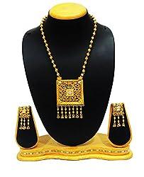 Satyam Jewellery Nx Antique Pearl Jewellery Necklace Set Fashion Jewellery (Wedding Season)