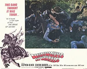 Werewolves on Wheels POSTER Movie (1971) Style F 11 x 14 Inches - 28cm x 36cm (Stephen Oliver)(Severn Darden)(D.J. Anderson)(Duece Barry)(Billy Gray)(Barry McGuire)