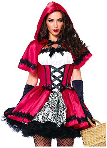 Leg-Avenue-Womens-2-Piece-Gothic-Red-Riding-Hood