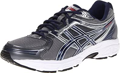 ASICS Men's GEL-Contend Running Shoe,Charcoal/Ink/Silver,8.5 M US