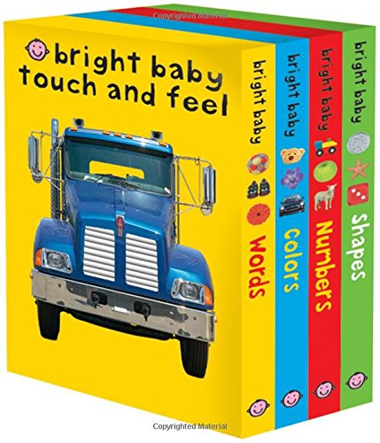 Bright Baby Touch & Feel Slipcase 2 (Bright Baby Touch and Feel) (Bright Baby Board Books compare prices)