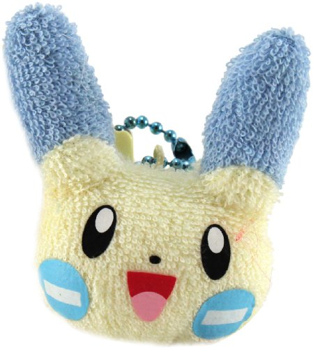 """Official Takaratomy Pokemon Mini Plush Strap - 2.25"""" - Minun - 1"""
