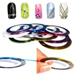 Nail Art Striping Tape Line Decoratio...
