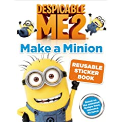 Despicable Me 2: Make a Minion Reusable Sticker Book            Paperback                                                                                                                                                                – June 18 2013                                                                                                                                                                                                                                                                                            by                                                                                                                                                                                                                                                                                                                                                                                                                                                                                                                          Kirsten Mayer                                                                  (Author)