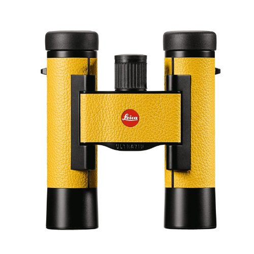 Leica 10X25 Ultravid Colorline Special Edition Binoculars (Lemon Yellow)