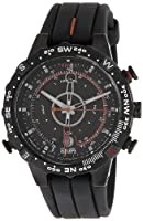 Timex Intelligent Quartz Compass Chronograph Black Dial Men's Watch - T2N720