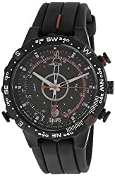Timex Intelligent Quartz Compass Chronograph Black Dial Mens Watch - T2N720