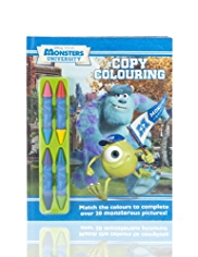 Monsters University Colouring Book