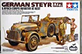 Tamiya 1/35 German Steyr Type 1500A/01 & Africa Corps Infantry at Rest