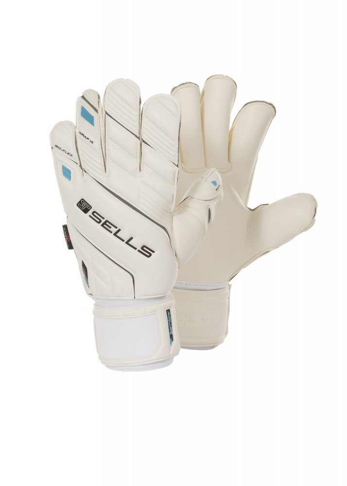 SELLS WRAP AQUA Goalkeeper Gloves uhlsport eliminator soft supportframe goalkeeper gloves
