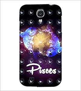 PrintDhaba Zodiac Pisces D-5762 Back Case Cover for SAMSUNG GALAXY S4 (Multi-Coloured)