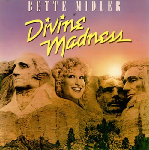 Original album cover of Divine Madness Soundtrack by Bette Middler