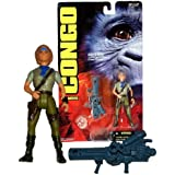 Kenner Year 1995 CONGO The Movie Series 5 Inch Tall Action Figure - KAREN ROSS with Ultra Laser Cannon and Power Diamond