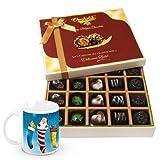 Best Of All Worlds Chocolate Box With Christmas Mug - Chocholik Belgium Chocolates