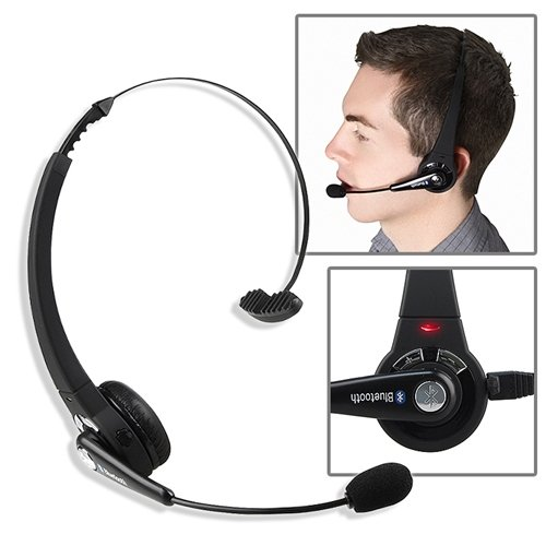 Wireless Bluetooth Headset Headphone For Sony Ps3 Playstation 3 Black With Mic