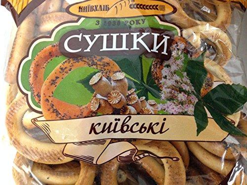 (Pack of 2) Ukrainian Sushki Kievski 500g