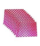 Kuber Industries Stylish Brocade Saree cover 12 Pcs Set