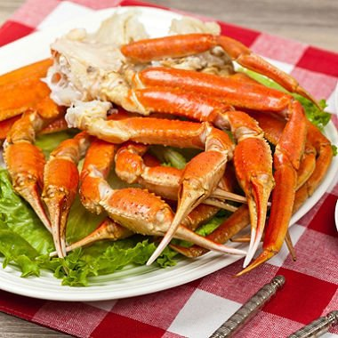 Live Wild Caught Snow Crab Clusters (4 lbs.) Express Shipped Frozen from Canada