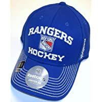 NHL New York Rangers Center Ice Flex Reebok Hat - Size S/M