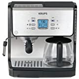 Krups Expert Espresso and Filter Coffee Machine with Combi Pump and Programmable Timerby Krups