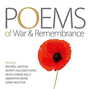 Poems of War and Remembrance Audiobook
