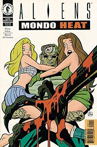 Mondo Heat Aliens Comics