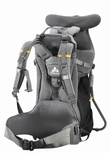 Vaude Butterfly Comfort Child Carrier Black