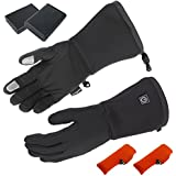 ActiVHeat Touchscreen Cordless Heated Glove Liners W/ Rechargeable Battery