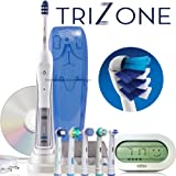Oral-B TRIUMPH 5000 TriZone / Five-Mode Rechargeable Toothbrush with NEW Wireless Smart Guide.