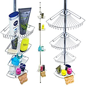 Shower Caddy/ 4 Tier Bathroom Shelf Units/ Tidy Storage