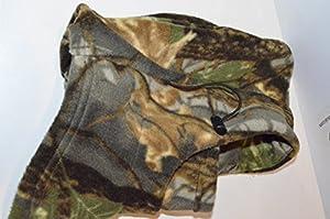 Acide ® tactique temps froid, Passe-montagne polaire Camouflage Masque intégral pour Airsoft Motif Camouflage