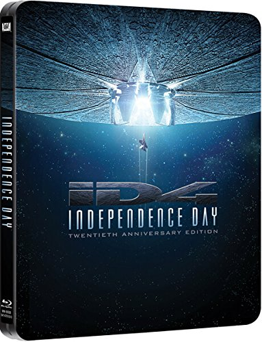 Independence Day - Twentieth Anniversary Edition - Steelbook Blu Ray