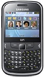 Samsung GT-S3350 ch@t 335 Téléphone portable EDGE Wifi Bluetooth Noir métallique