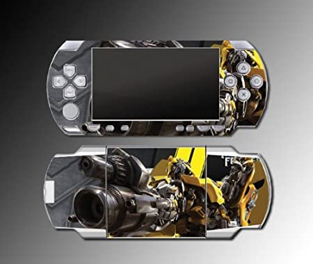 Transformers Dark of the Moon Game Vinyl Decal Skin Protector Cover 17 for Sony PSP Playstation Portable 1000