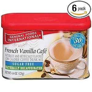 International Coffee French Vanilla Cafe