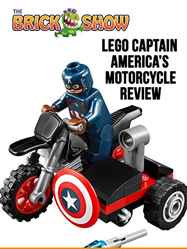 LEGO Captain America Civil Wars Captain America's Motorcycle Review (30447)