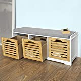 Amazon.com: Bench Storage Cabinet