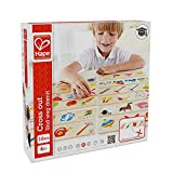 Hape - Home Education - Cross Out Wooden Sorting Game