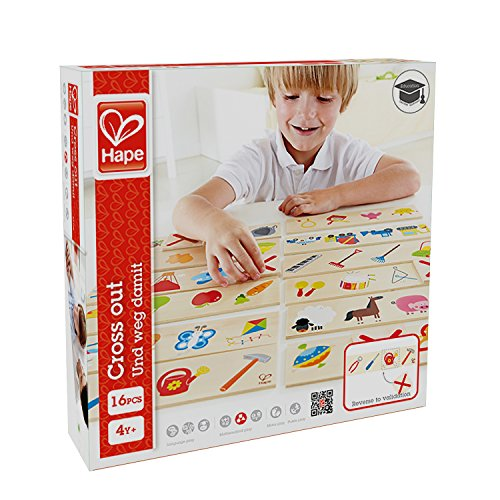 Hape Home Education - Cross Out Game - 1
